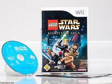 LEGO STAR WARS - DIE KOMPLETTE SAGA   OVP/Anl.  °Nintendo Wii Spiel°