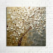 "NO Frame/ Hand painted Oil Painting canvas Wall Art "" flowers"" YH8701296"