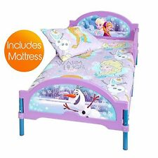 DISNEY FROZEN COSYTIME TODDLER BED + MATTRESS NEW KIDS