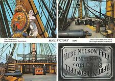 B98897 h m s victory uk the fo castle and boat deck    ship bateaux