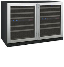 Allavino 112 Bottle Built-In Wine Cooler Refrigerator Stainless Steel Four Zone
