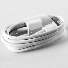 New White 3ft Charging Charger Data Sync USB Cable Cord For iPhone 5/5S/6/6plus