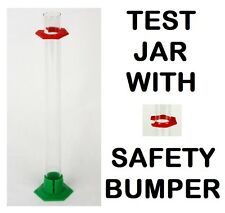 "SWEET NEW GLASS 14"" HYDROMETER TEST JAR for HARD LIQUOR PROOF & TRALLE % ALCOHOL"