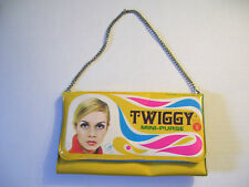 Vintage 1967 Twiggy Vinyl Mini-Purse * Rare *
