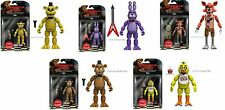 "Funko Five Nights At Freddy's Set of Five 5"" Action Figures Free Spring Trap"