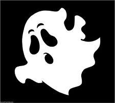 Ghost aterrar a sus Fantasma Phantom Sticker Etiqueta de vinilo gráfico Etiqueta Blanca V6