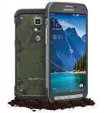 "5.1"" Samsung Galaxy S5 Active SM-G870A 4G 16GB 16MP GSM AT&T Smartphone Green"