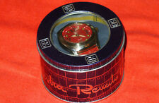 boxed analogue big red watch design by fashion designer Renato Balestra Italy