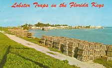 FLORIDA, CONCH KEY AND LOBSTER TRAPS VINTAGE VIEW(FL-CMISC*)