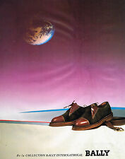 PUBLICITE ADVERTISING 014   1989   BALLY   chaussures homme