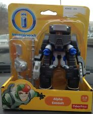 NEW Fisher Price Imaginext Space Alien Astronaut Man Alpha Exosuit