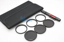 58mm IR720nm+IR850nm+IR950nm IR Infrared +Star 4X 6X 8X filter set +LENS PEN