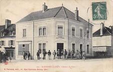 CPA 71 SAINT BONNET DE JOUX BUREAU DE POSTE