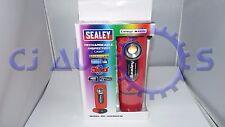 Sealey Ricaricabile Lampada 5w COB LED LUCE DIURNA COLOUR MATCH Effetto Torcia