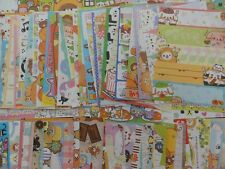 Grab Bag: 90 Note paper stationery cute variety design memo stationary mix lot
