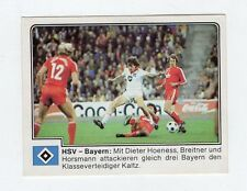 figurina GERMANIA FUSSBALL 80 PANINI NEW NUMERO 161 HSV - BAYERN