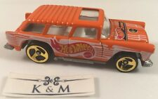 2000 Hot Wheels .Com Chevy Nomad Orange Loose