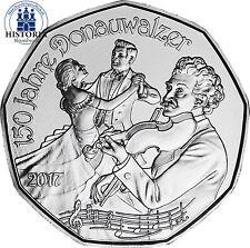 Österreich 5 Euro Silber 2017 Hgh Silbermünze 150 Jahre Donauwalzer im Folder