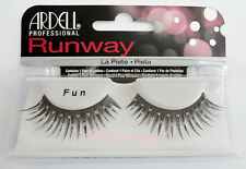 NIB~ Ardell Runway FUN False Fake Lashes Eyelashes Glitter Black Wild