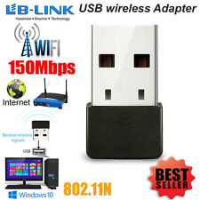 Mini USB Adaptador Inalámbrico WIFI 150 Mbps 802.11 B G N Dongle Adaptador de red LAN