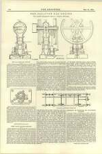1892 The Palatine Gas Engine Liverpool Early Railway Brakes