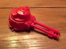Vintage Hasbro GI Joe Defiant Gantry Crawler Red Inverted Laser Cannon Part