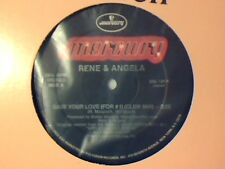"RENE & ANGELA Save your love 12"" USA COME NUOVO LIKE NEW!!!"