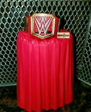WWE MATTEL ELITE 47 UNIVERSAL CHAMPIONSHIP Title & Stand RED Wrestling Figure