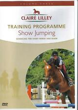 NEW DVD CLAIRE LILLEY TRAINING PROGRAMME SHOW JUMPING Showjumping