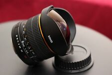 BOWER 8MM FISHEYE HD LENS FOR CANON 5D MARK T3i T4i T5i T6 T6i T3 T2 T6S CAMERA