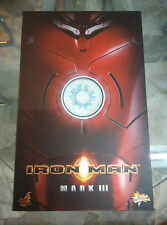 "Hot Toys MMS 75 Iron Man Mark 3 III Tony Stark 12"" Mint in Box CHEAPEST"