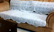 5 SEATER CROSIER DESIGN ROYAL LOOK SOFA COVER SET(LIGHT YELLOWISH COLOR)......