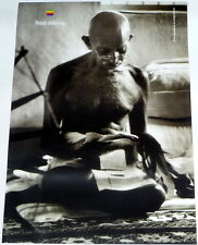APPLE POSTER THINK DIFFERENT * MAHATMA GANDHI * 28/20 inches MINT Steve Jobs
