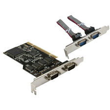 InLine PCI Scheda interfaccia, 4x 9pin di serie RS-232