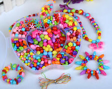 420pcs Mix Color Jewelry Beads For Kids Crafts DIY Educational Training Set