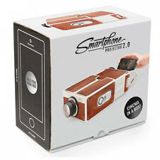 Smartphone Projector 2.0 Cinema In A Box Preassembled Fits Iphones Luckies 959