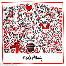Keith Haring BUSY BEE Decor 12x14 Poster Pop Art Print