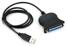 USB 2.0 to DB25 port Parallel Printer LPT Adaptor Lead Cable IEEE 1284 LN PC HP