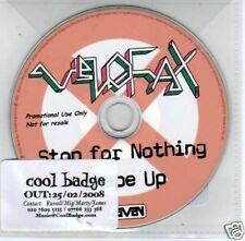 (E100) Velofax, Stop For Nothing - DJ CD