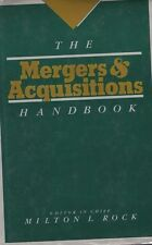 The Mergers and Acquistions Handbook by Milton L. Rock (1986, Hardcover)