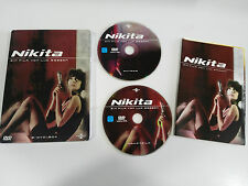 NIKITA - 2 DVD STEELBOOK FRENCH DEUTSCH - GERMAN EDITION LUC BESSON
