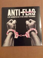 RSD 2016 Anti-Flag Acoustic Live Acoustic At 11th Street Records Sealed New