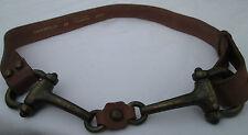 - AUTHENTIQUE    ceinture  FLAVIO CASTELLANI   cuir  TBEG  vintage