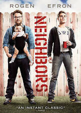 Neighbors (DVD, 2014) Seth Rogen, Zac Efron New Sealed