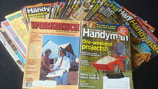 HANDYMAN & WORKBENCH Lot 29 Magazines DIY Projects Home Hobby Craft Building