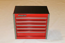 Snap On Red Mini Bottom Roll Cab Tool Box Rare  Brand New