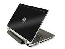 3D CARBON FIBER Vinyl Lid Skin Cover Decal fits Dell Latitude E6220 Laptop