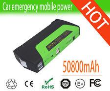 50800mAh Car Jump Starter 12V Mobile Power Bank Camera Laptop Battery Charger