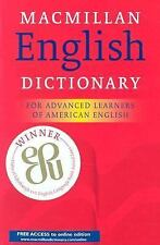 Macmillan English Dictionary: For Advanced Learners of American English by NA,