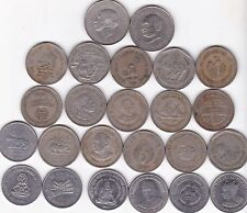 REPUBLIC INDIA 1 RE ONE RUPEE 24 ALL DIFFERENT COMMEMORATIVE COINS